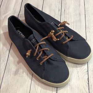 Sperry Top-Sider Crest Vibe Navy Suede Sneaker
